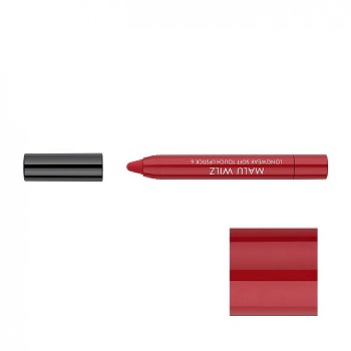 MALU WILZ - Ruj hidratant mat rezistent 06 - Longwear Soft Touch Lipstick Red passion 1,4gr