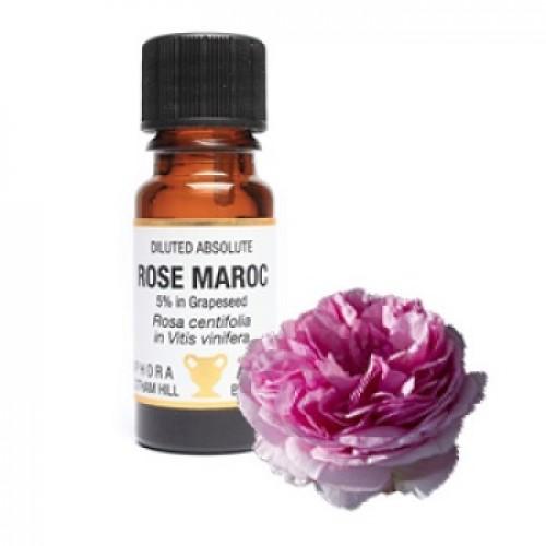 Ulei esential trandafir (Rosa centifolia), diluat 5% in ulei strugure, fara adaosuri sintetice, fara solventi sau alcool, 10ml